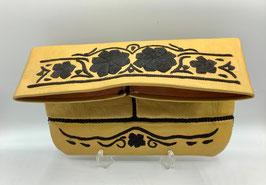 Clutch aus weichem Leder gelb (Bestell-ID 40015c)
