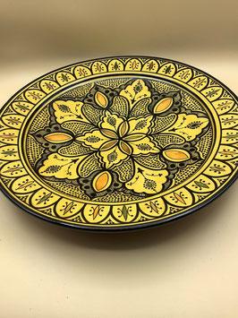 Couscousschüssel - Couscousteller - Wanddeko aus Safi  (Bestell-ID 31303)