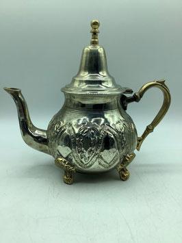 Vintage große Teekanne / Minzteekanne / Pfefferminzteekanne L für Familie (Bestell-ID 34012)