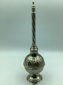 Vintage Parfümflacon / Duftspender aus versilbertem Kupfer (Bestell-ID 57010)