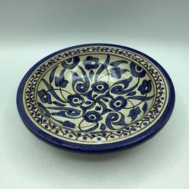 tiefer Teller / Wandteller blau (Bestell-ID 31026b)