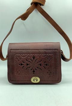 Gestanzte Lederhandtasche S (Bestell-ID 40009a)