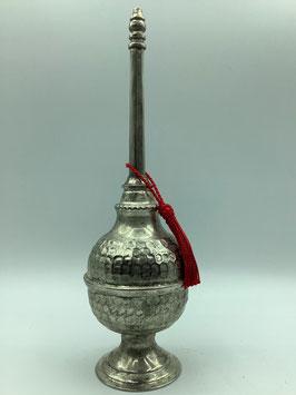 Vintage Parfümflacon / Duftspender aus versilbertem Kupfer (Bestell-ID 57012)