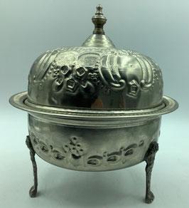 Vintage Zuckerdose oder Minzbehälter / Handarbeit aus  Marokko (Bestell-ID 34002)