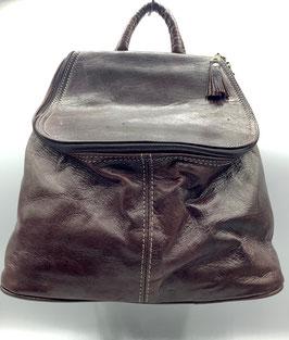 Raffinierter Rucksack aus Glattleder (Bestell-ID 40019)