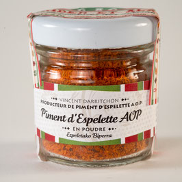 Poudre de piment d'Espelette AOC / AOP