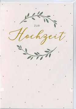 """Glückwunsch-Karte """"ZUR Hochzeit"""""""