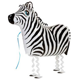 Airwalker: Tier-Luftballon Zebra
