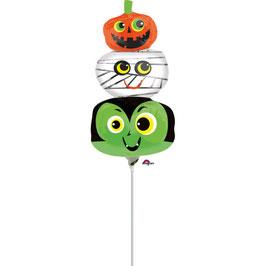 Folienballon XXL Halloween Köpfe