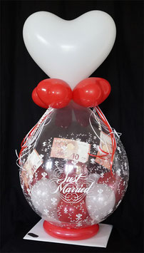 "Geldballon ""Just Married"""