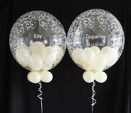 Füllung: 8 Mini-Ballons in Ihrer Wunschfarbe