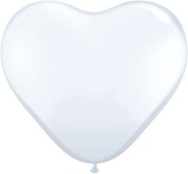 99963 großes Herz Weiß