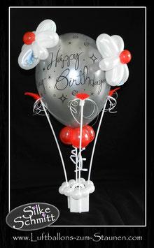 """Heißluftballon """"Happy Birthday"""""""
