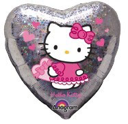 Hello Kitty Herz holographisch