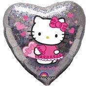 Hello Kitty Herz holographisch