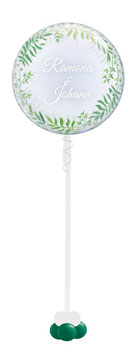 Elegantes Bubble Bouquet: Greenery (Blätter)