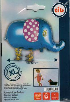 Airwalker: Tier-Luftballon Elefant unbefüllt