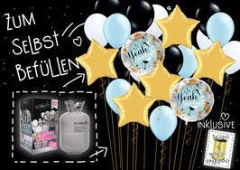 PARTY-SET (Helium/Ballongas + Luftballons): ABI