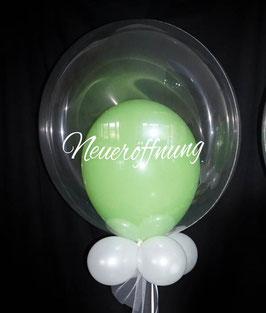 Luftballon Bubble Neueröffnung