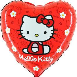 Hello Kitty Blume Herz
