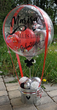 MEGA - Heißluftballon zum Geburtstag