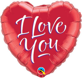 29133 Folienballon  I LOVE YOU