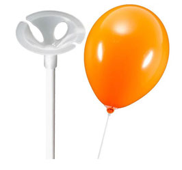 Luftballonstäbe inkl. Halterung