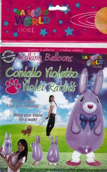 Airwalker: Tier-Luftballon Hase unbefüllt