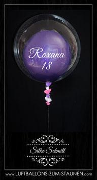 Luftballon im Bubble