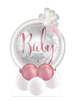 """Ballon-Arrangement Baby: """"Du bist so winzig klein..."""""""