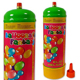 Ballongas Einwegflasche Elio Helium 0,11m³
