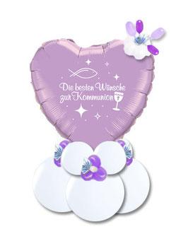 Geschenkballon - Geldgeschenk zur Kommunion Firmung Jugendweihe