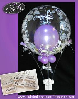 Heißluftballon - Geldgeschenk Geburtstag