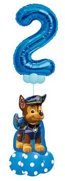 Luftballon Bouquet  für Jungen mit großer Zahl