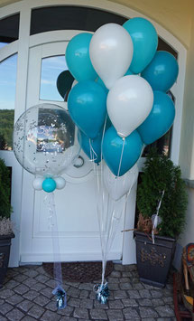XL Hochzeitsüberraschung: Bubble & Bouquet