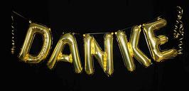 """Ballon Buchstaben Schriftzug """"DANKE"""""""