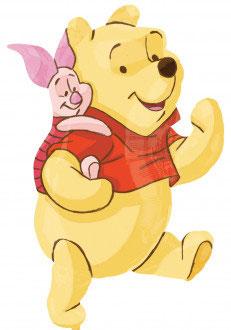 Folienballon Pooh + Freunde