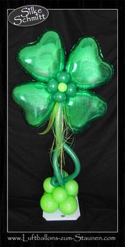 Glücks-Klee Ballon-Ständer