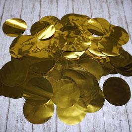 Konfetti Gold Metallic XXL