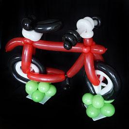 XXL Fahrrad aus Luftballons