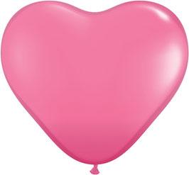 10787 großes Herz Fuchsia