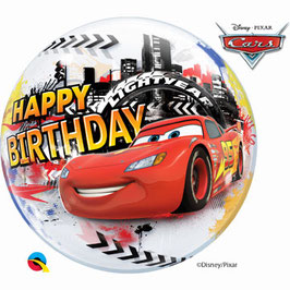 Bubble Lightning McQueen Birthday