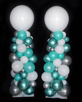 """Luftballon Bubble Säule im """"Organic-Style"""""""