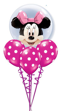 "Luftballon-Bouquet ""Minnie"" oder ""Mickey"""