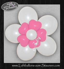 Luftballon-Blume