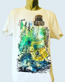 T-SHIRT RAVE ON NATURE KID UV-COLOR
