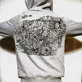 HOODIE RAVE ON! PSY BICYCAL 0001.2020