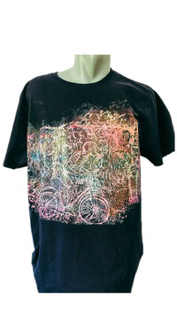 T-SHIRT ART WORK RAVE ON PSY SPECIAL UV PAINT
