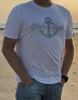 """Herren T-Shirt """"Glück Ahoi"""""""