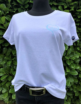 "Damen T-Shirt ""Herz Welle"""